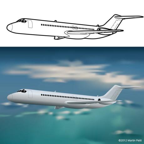 DC-9 Aircraft