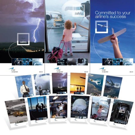 CAE Civil Aviation posters