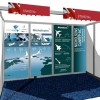 Kiosque pour le Paris Air show