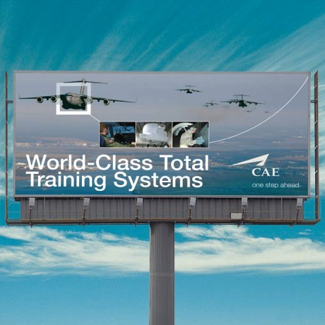 C-17 pilot training Billboard