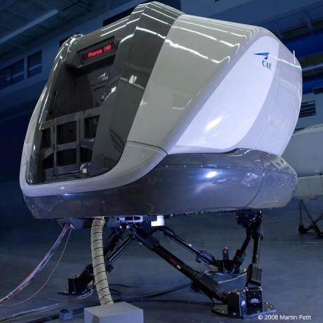 Embraer Phenom 100 Simulator, CAE